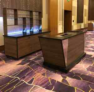 Stadium Mobile Bar Cart Venues Campuses Convention Centers Food Beverage HighEnd Vidara Hotel Las Vegas Nevada 6