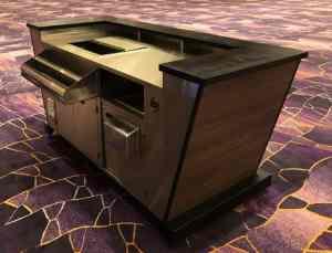 Stadium Mobile Bar Cart Venues Campuses Convention Centers Food Beverage HighEnd Vidara Hotel Las Vegas Nevada 7