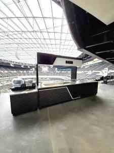Stadium Mobile Concessions Cart Venues Food Beverage Allegiant Stadium Las Vegas Nevada 11