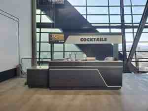 Stadium Mobile Concessions Cart Venues Food Beverage Allegiant Stadium Las Vegas Nevada 8