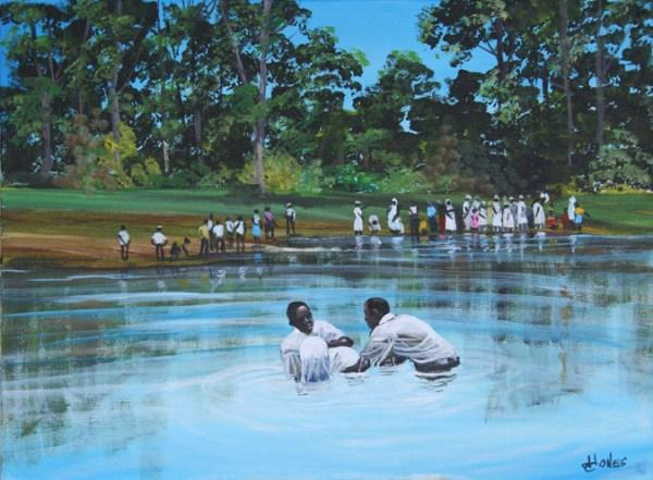 Gullah Baptism by John W Jones Gullah Art African