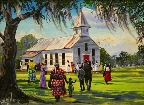 Gullah Art by John W Jones