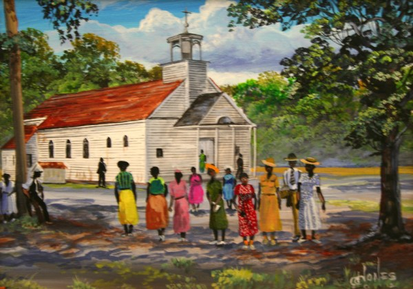 Gullah Art by John Jones