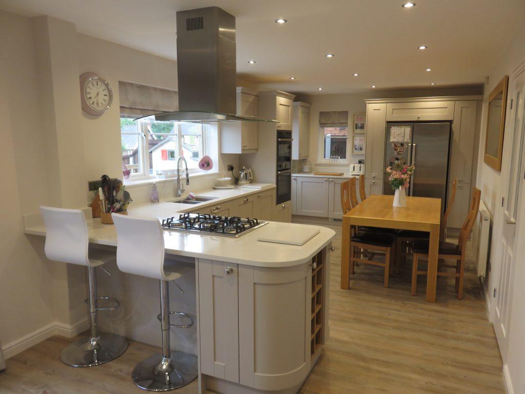 houzz modern living room lighting interior design rooms images madison cashmere shaker kitchen, halesowen. the gallery ...