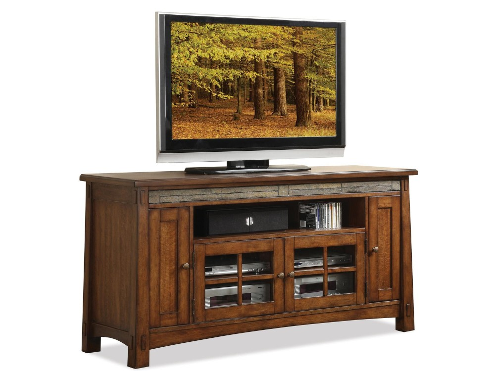 Craftsman Home 62Inch TV Console  Gallery Home Furnishings