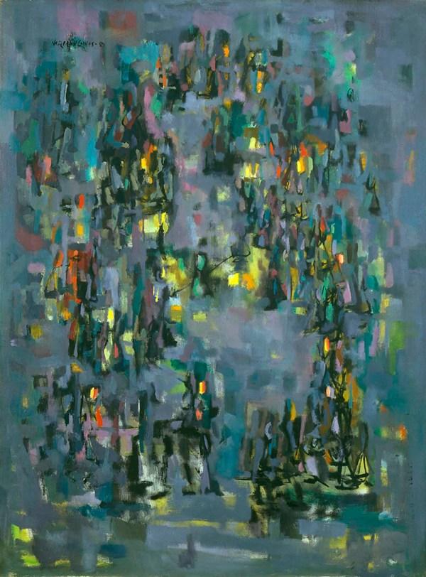 Artist Norman Lewis Paintings