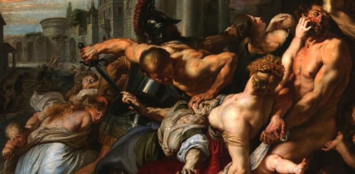 """Igishushanyo """"The massacre of the innocent"""""""