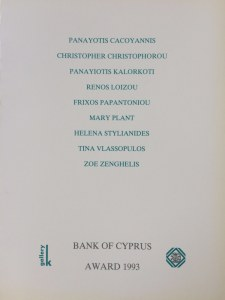 Bank of Cyprus Art Award 1993