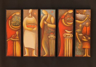 The Once Upon a Time exhibition of art by Mattheos Christou - July