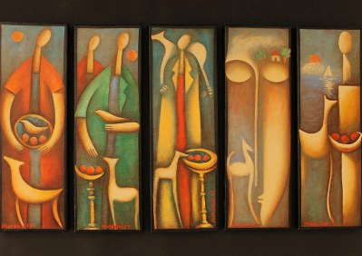 "Mattheos Christou art - ""March"""