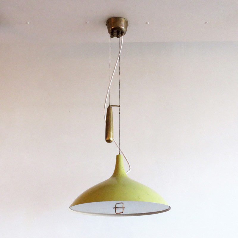 Large paavo tynell counter weight chandelier a1965 gallery l7 aloadofball Images