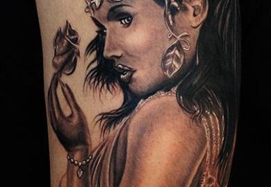 Goddess Tattoo Designs Women