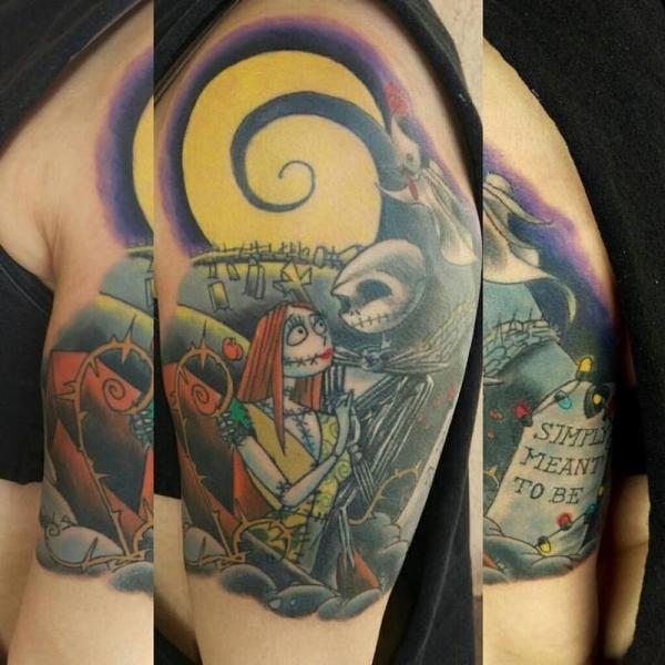 f26f5ba30 20+ Jack And Sally Portrait Tattoo Pictures and Ideas on Meta Networks
