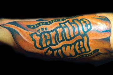 Pittsburgh Steelers Sleeve Tattoo