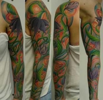 tattoo sleeve vines
