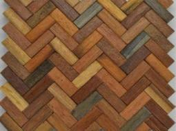 harringbone mozaik jati