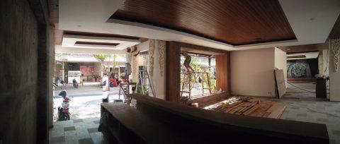 Plafon kayu Kubu Anyar Bali 5