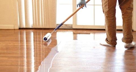 coating ulang lantai parket solid