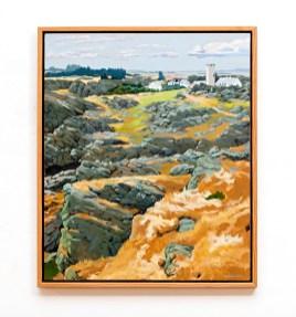 "Beiningen Oil on canvas 32"" x 38"" (framed) $8000.00"