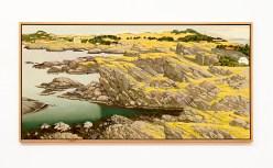"""Falnes, 2007 Oil on canvas 48"""" x 36"""" (framed) NFS"""