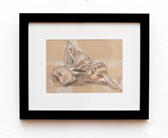 Down by the Seashore Graphite $95.00