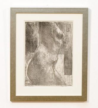 Nude, c.1968 Lithograph Matted and framed $150.00 75% of the proceeds will be donated to a local animal rescue.