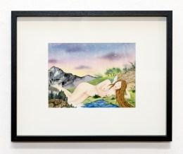 Gaia, 2021 Watercolor $170.00