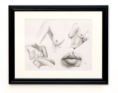 Sketch #3 Graphite $125.00