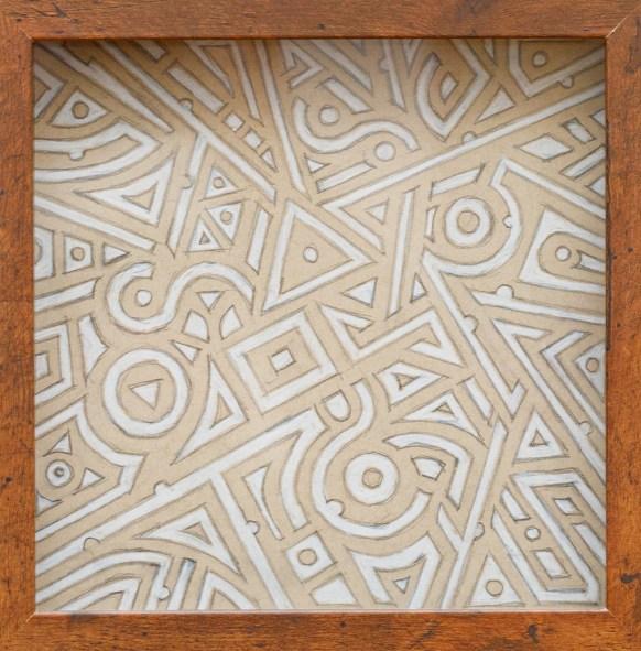 Atlantis Labyrinth Prismacolor Framed $125.00