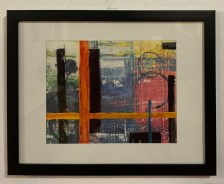 Beyond... Acrylic Matted and framed $150.00