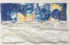 Little Landscape Pastel & collage NFS