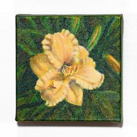 Day Lily Acrylic on canvas $125.00