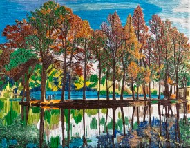 Reflections Embroidery $2000.00