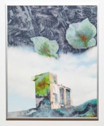 Untitled, 2013 2D Assemblage on aluminum $400.00