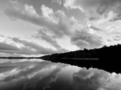 Serenity Photograph Matted and framed $85.00