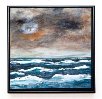 The Storm Acrylic on canvas Framed $400.00
