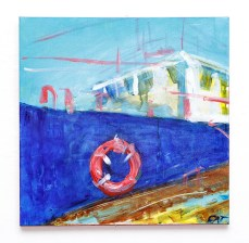Berth, 2021 Acrylic on canvas $575.00