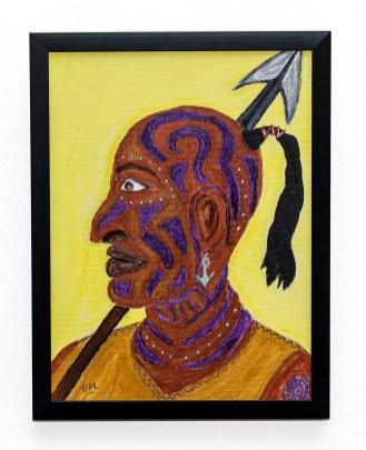 Queequeg Acrylic Framed $80.00