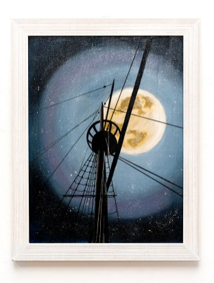 Maria Crocker Night Watch Acrylic Framed NFS