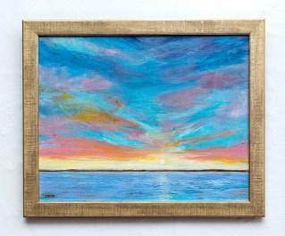 Lisa Batch Good Morning Acrylic $300.00