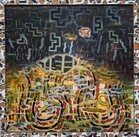 Clint Pollitt Untitled 10 Oil on board NFS