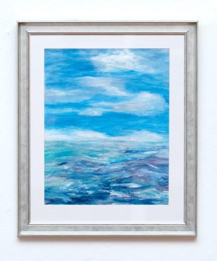 Lisa Batch Sea Sick Acrylic on Yupo $450