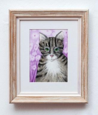 Lisa Goulart Little Prince Watercolor $80
