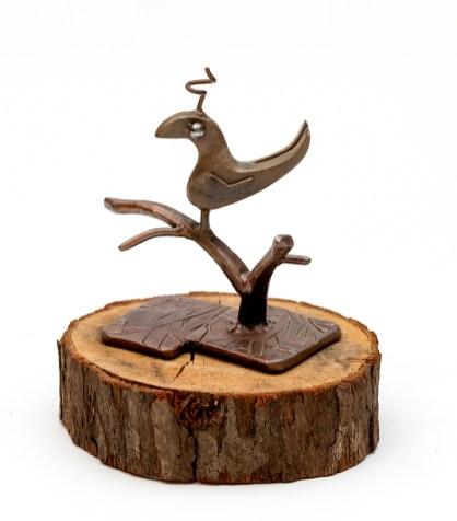 Johnny McCoy Hoppy, 2020 Metal sculpture NFS