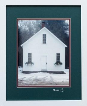 William Correia White Church Photograph $150
