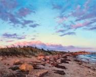 John Jameson Low Tide & Twilight, 2020 Oil on canvas $3000