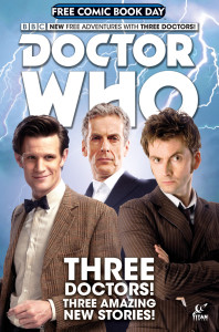 Titan Comics Doctor Who FCBD 2015