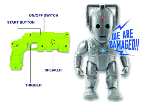 Cyberman Attack Jeu 1