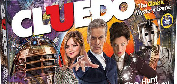 Le jeu Cluedo – Doctor Who : The Hunt for Gallifrey