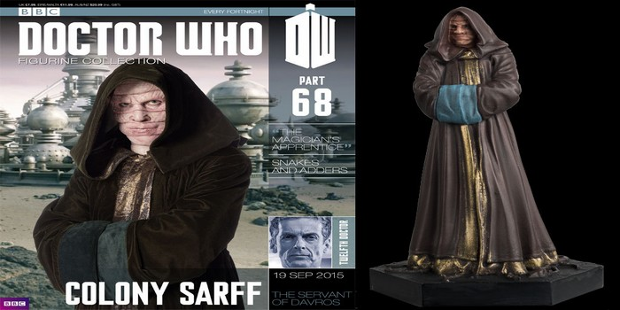 Dr Who Figurine Collection #68 : Colony Sarff